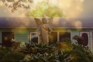 Sparkle Angel Garden